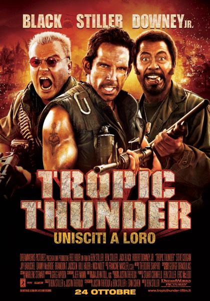Tropic Thunder (uscita venerdì 24 ottobre 2008) Tropic10