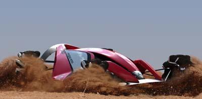 Mitsubishi revela carro de competição do futuro Mitsu110