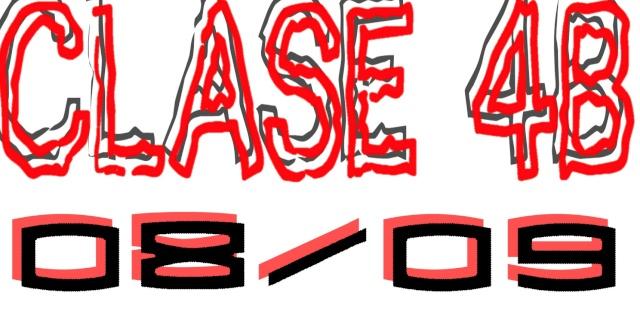 Clase 4ºB 08/09
