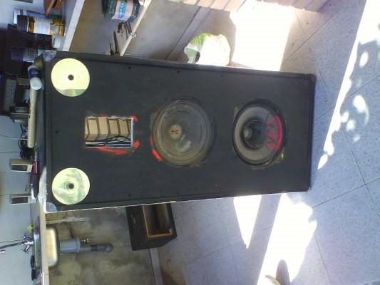Restauro de um Amplicador farfisa Dsc01210