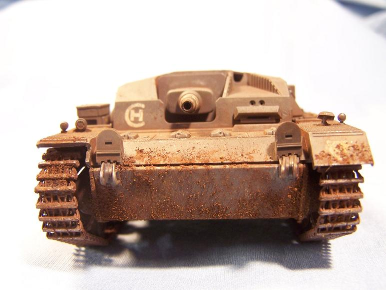 STUG - Stug III B 1/48° Tamiya Stug3b12