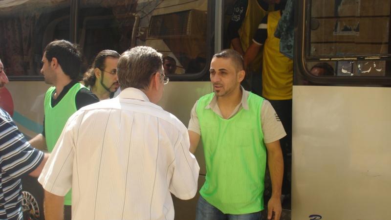 كلكامش يغادردمشق متوجهاالى محافظة الحسكة Dsc03511