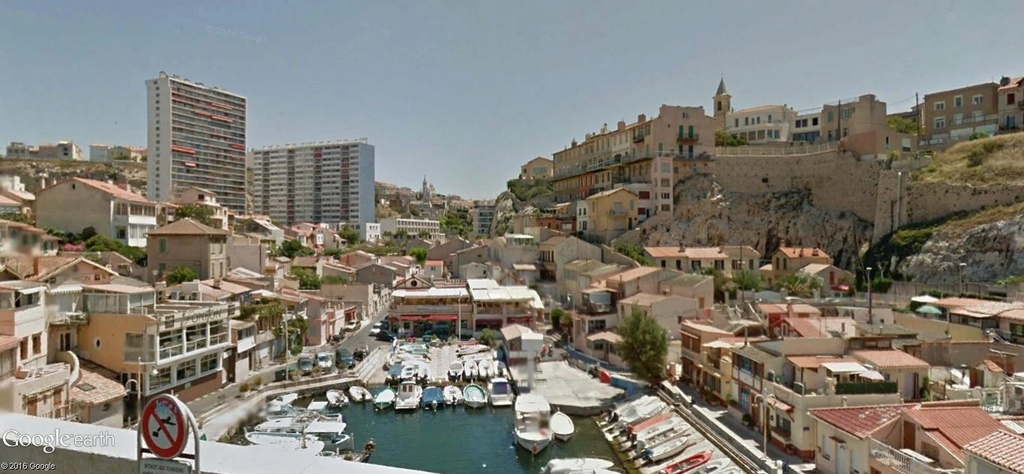 vallon des Auffes, Marseille, France A25