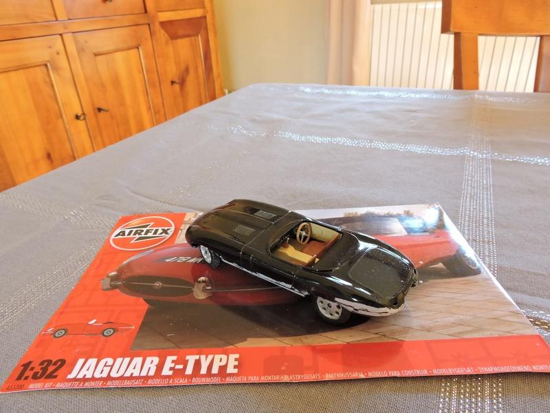[AIRFIX] JAGUAR TYPE E 1/32 Jaguar16
