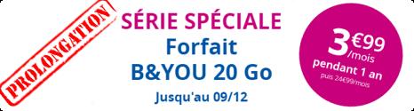 """Bouygues Telecom prolonge son offre """"Anti-Free"""" à 3,99€ pour 20 Go 14810910"""