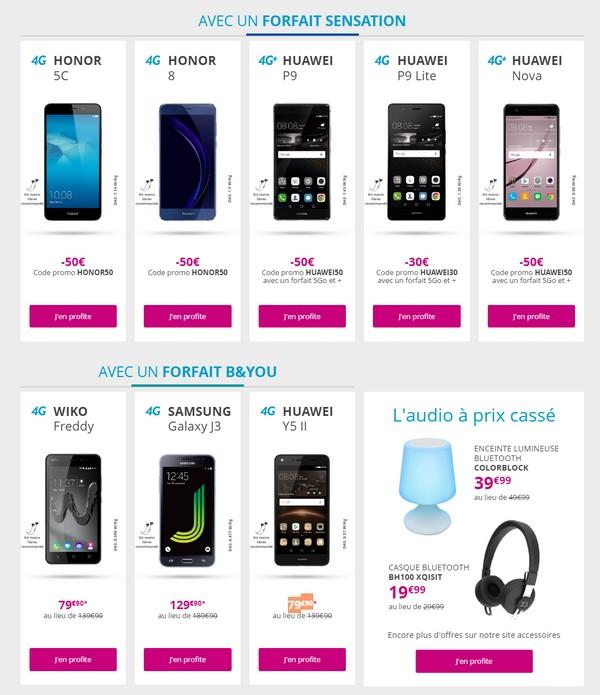 Bouygues Telecom lance la Techno Friday jusqu'au 28 novembre Techno11