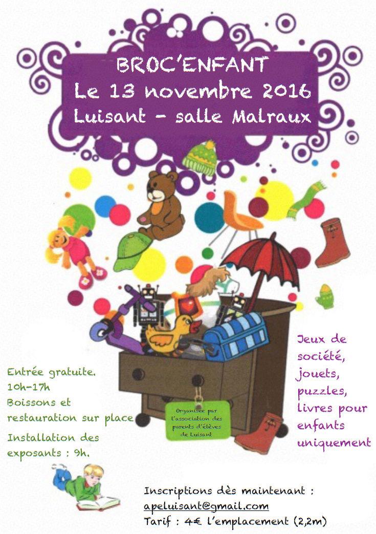 Broc'Enfants le 13 novembre à Luisant Broc_e10