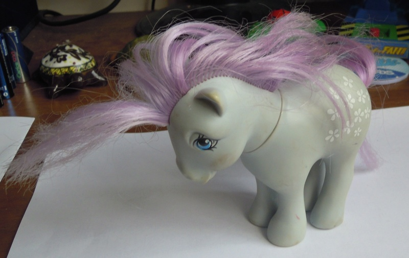 CERCO MY LITTLE PONY , Mio mini pony anni 80 Minipo10