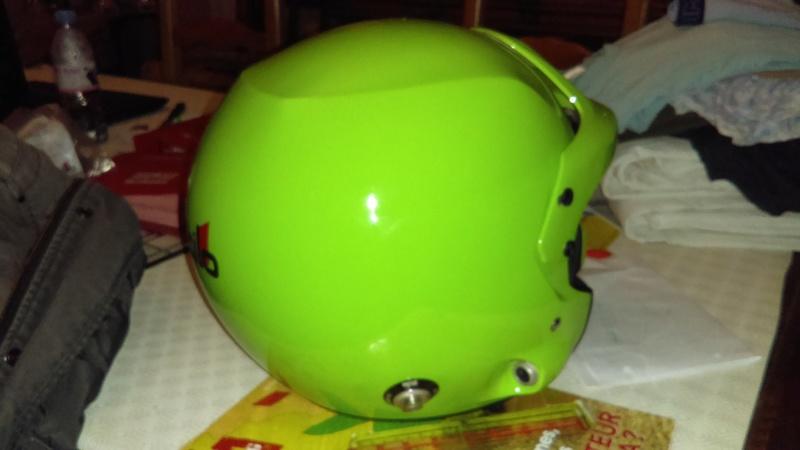 Casque STILO DES Vert Fluo Taille L Imag0110