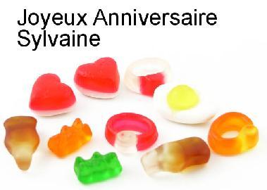 Joyeux anniversaire Sylvaine Carte-10