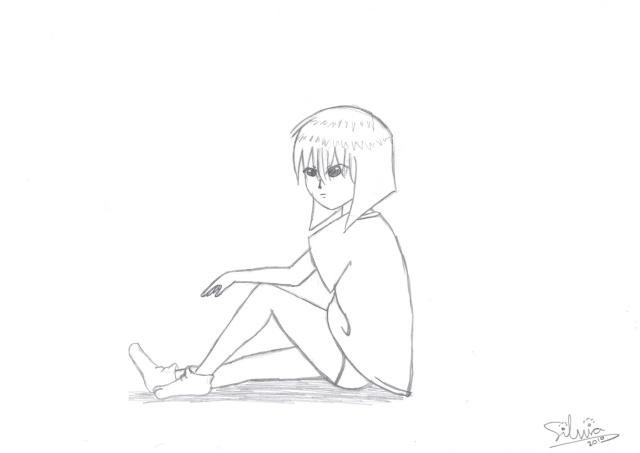 Chica sentada Img18910