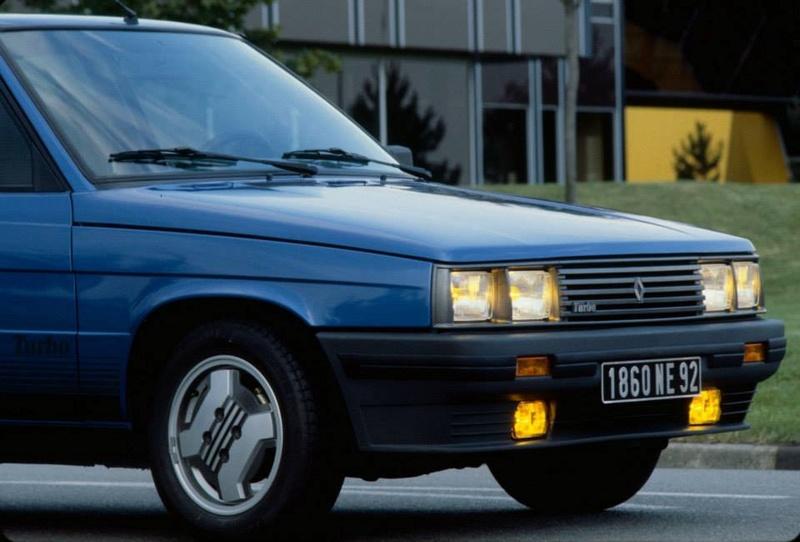 Renault 9 Turbo et Renault 11 Turbo 96967710
