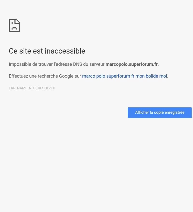 Problème de connexion en wifi sur le forum Screen10