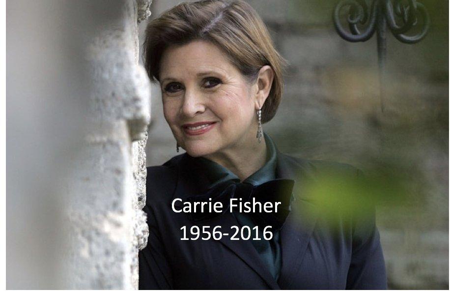 Triste jour: Carrie Fisher & Claude Gensac sont parties, ... C0tv3x10