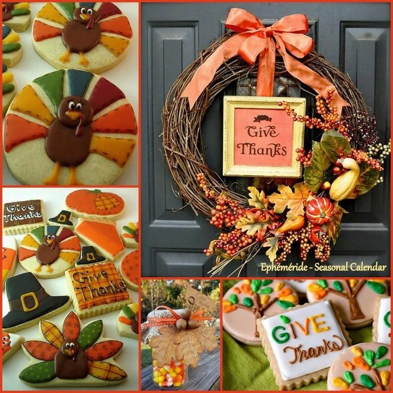 Fête de la reconnaissance - Thanksgiving ! Tnankg10