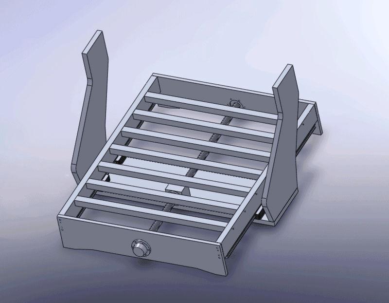 Projet Gros Portique CNC Mod110