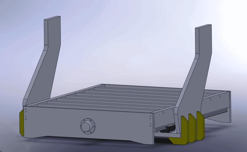 Projet Gros Portique CNC Mod210