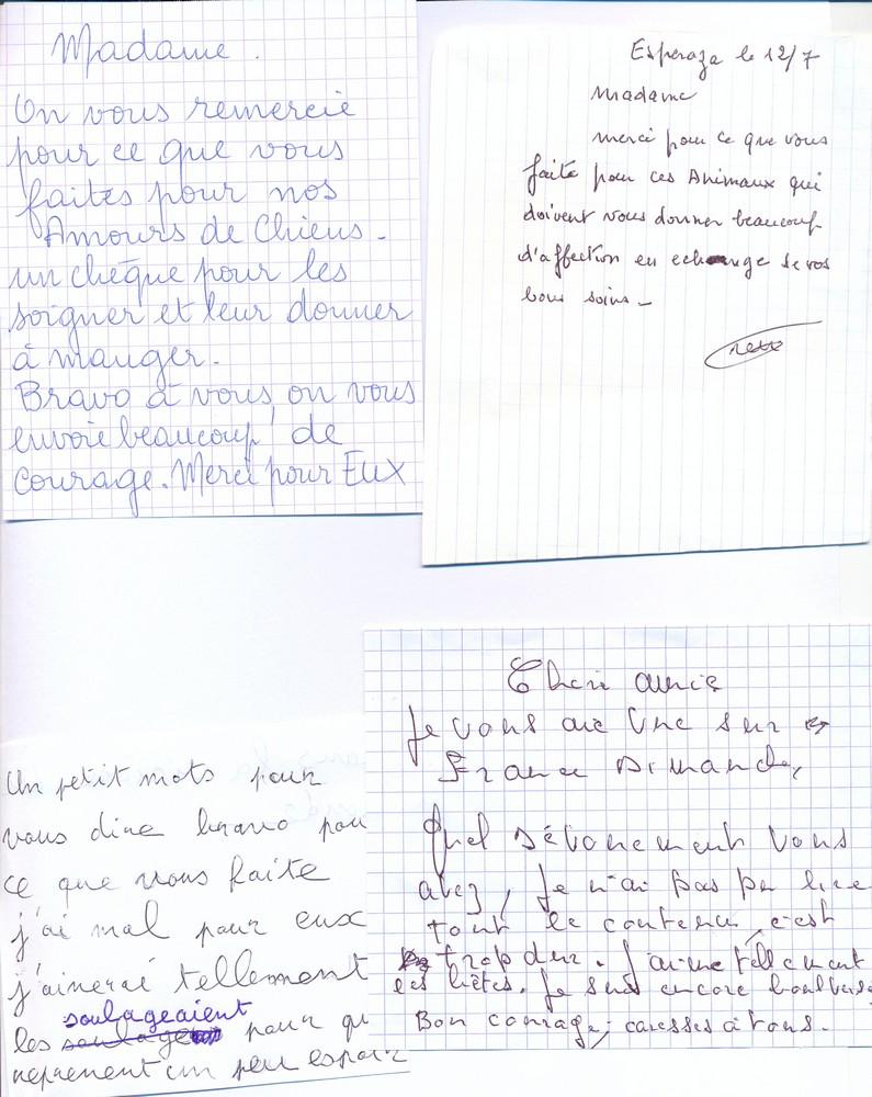 Cani-Nursing dans France Dimanche Lettre10