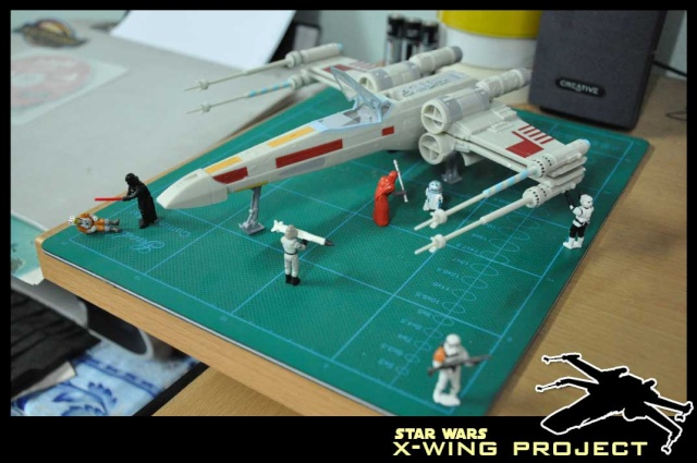 Revell starwars T-65 X-wing Fighter 1110