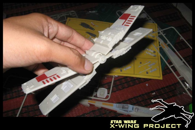 Revell starwars T-65 X-wing Fighter 410