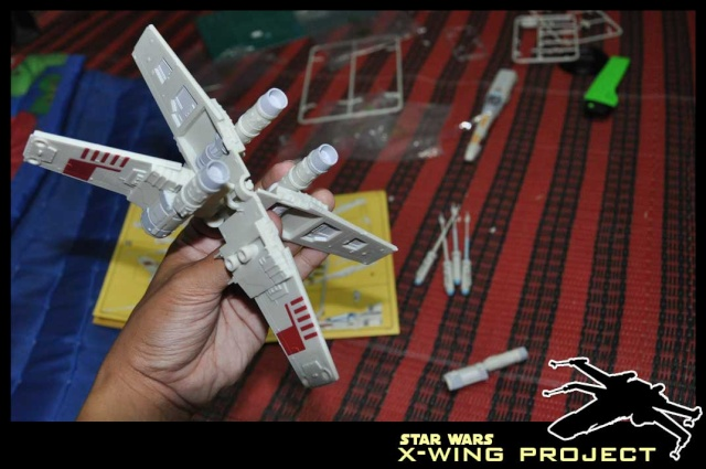 Revell starwars T-65 X-wing Fighter 710