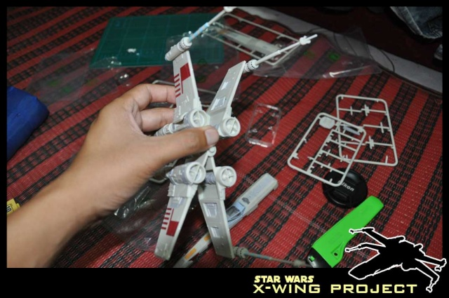 Revell starwars T-65 X-wing Fighter 810