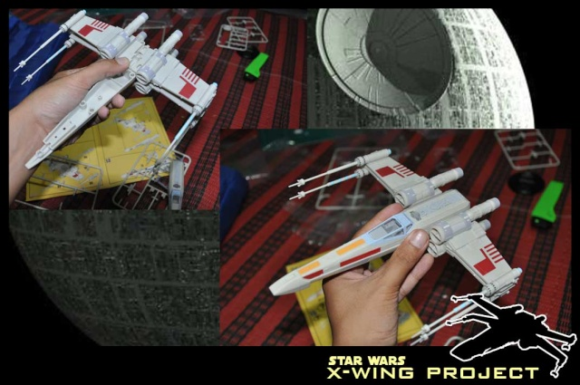 Revell starwars T-65 X-wing Fighter 910