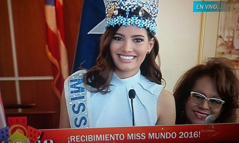 Official Thread Miss World 2016 ® Stephanie Del Valle - Puerto Rico - Page 2 15977410