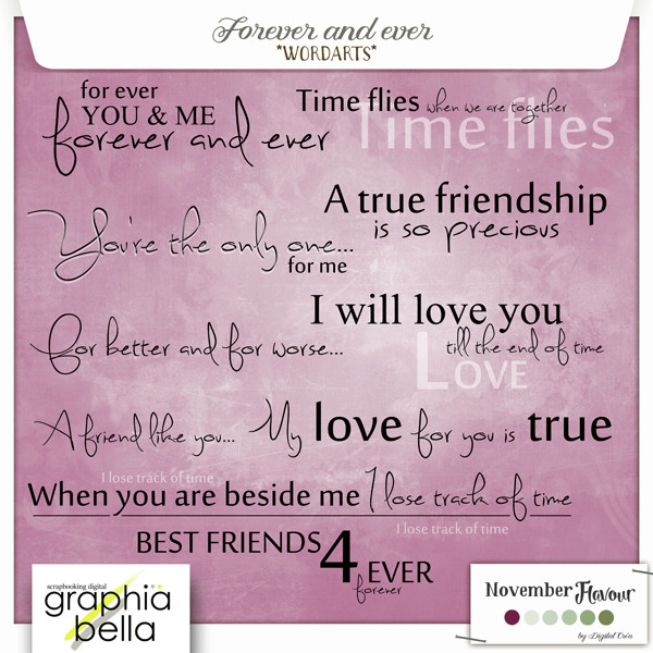 FOREVER AND EVER (NOVEMBER FLAVOUR) Gb_for21