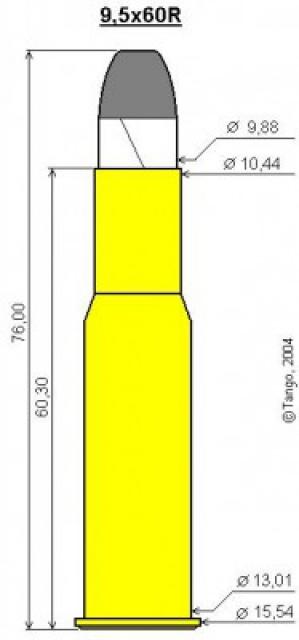 recharger du 9.5x60r mauser 1887  94471610