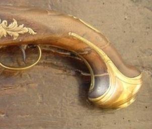 Identification poinçons et pistolet à silex. Coty_g10