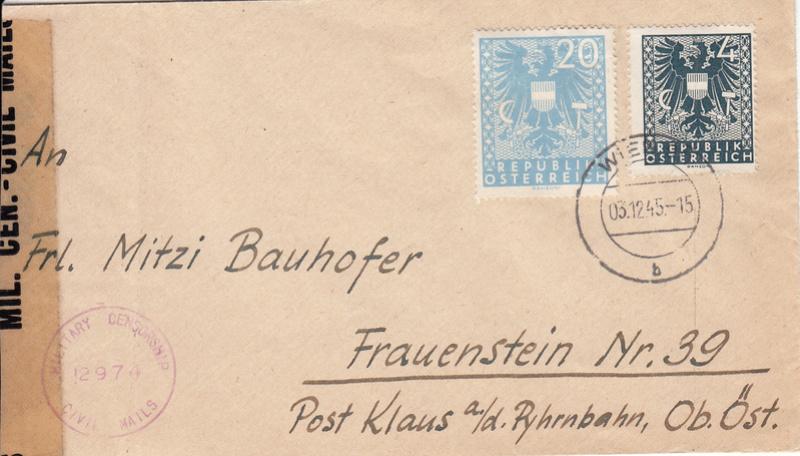 Wappenzeichnung  -  ANK 714-736 - Belege - Seite 3 Img12