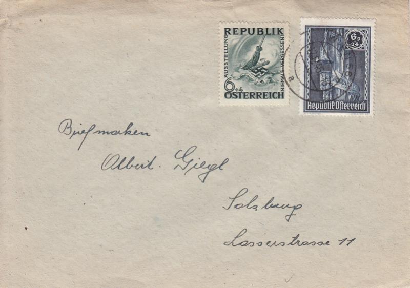Sammlung Bedarfsbriefe Österreich ab 1945 - Seite 8 Img13