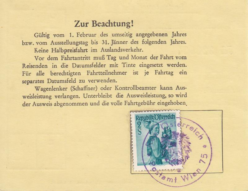 Postbedienstetenausweis zur Halbpreisfahrt - Ausweisgebühr Img_0037