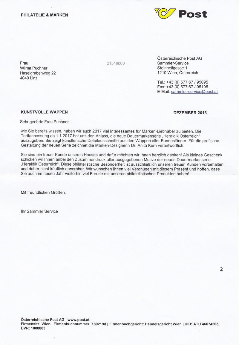 "Freimarkenserie ""Heraldik"" ab 1. Jänner 2017 Img_0044"
