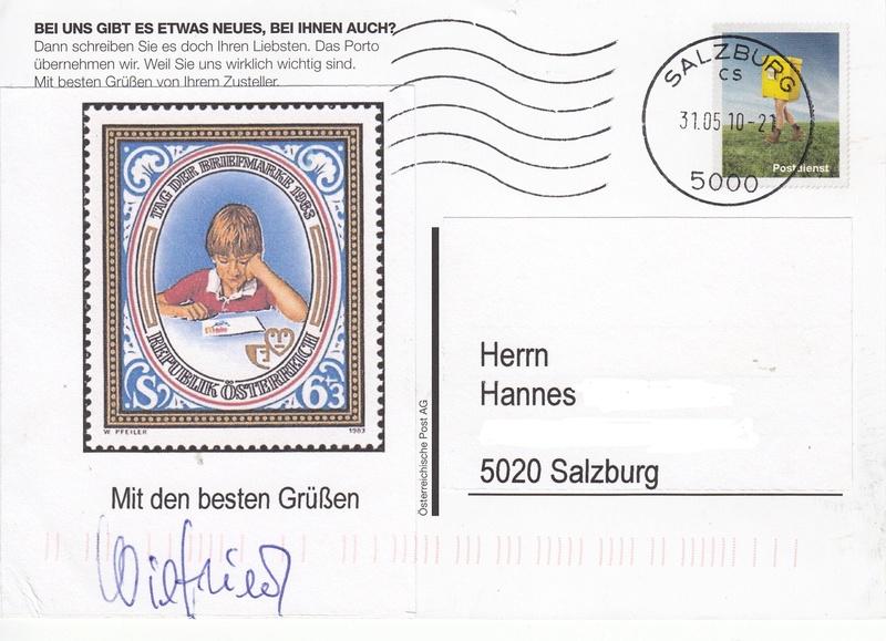 Postdienst – Service des postes - Postdienstkarten - Österreich Img_0063
