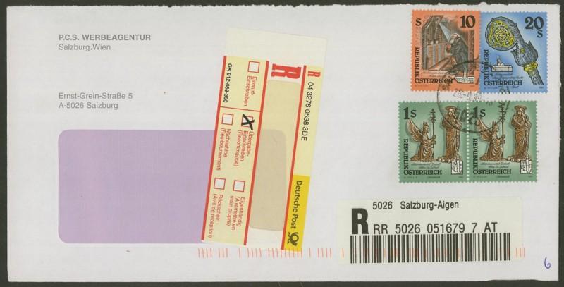 Sammlung Bedarfsbriefe Österreich ab 1945 - Seite 5 Ank_2111