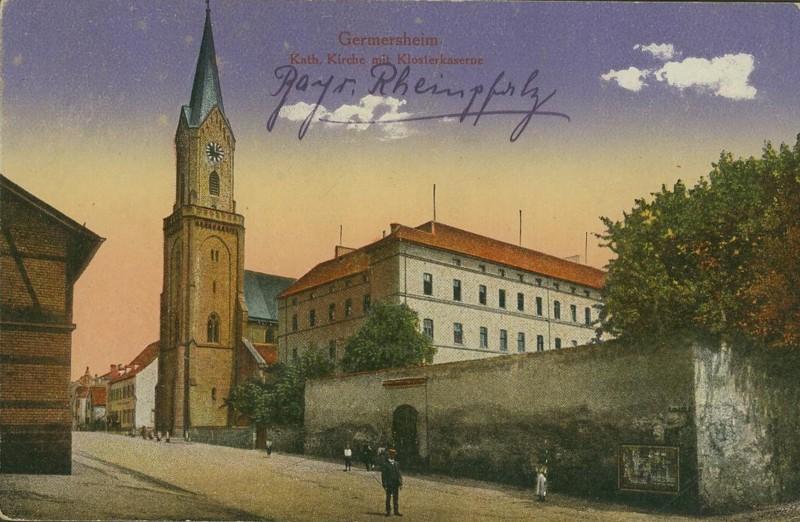 Alte Farbkarten deutscher Städte und Landschaften Germer10