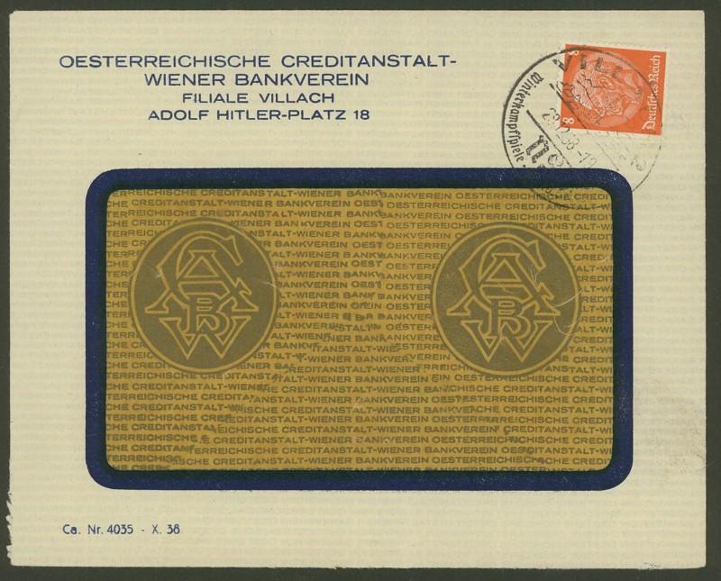 Briefe / Poststücke österreichischer Banken - Seite 2 Villac10