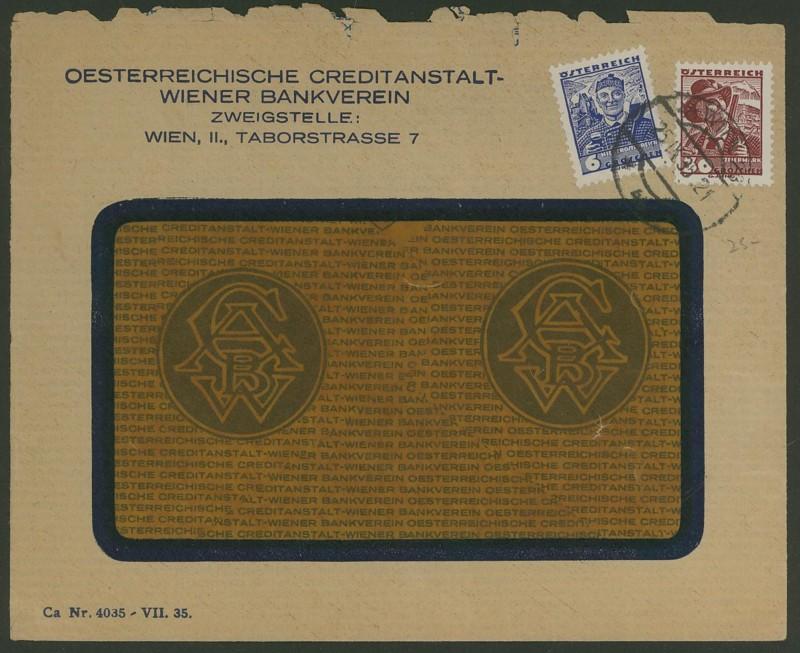 Briefe / Poststücke österreichischer Banken - Seite 2 Wien_212