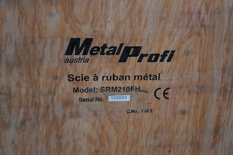 Scie à ruban à métaux MétalProfi SRM210FH 03_fyv18
