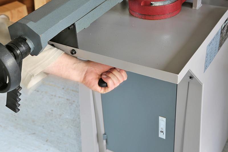 Scie à ruban à métaux MétalProfi SRM210FH 04_fyv15