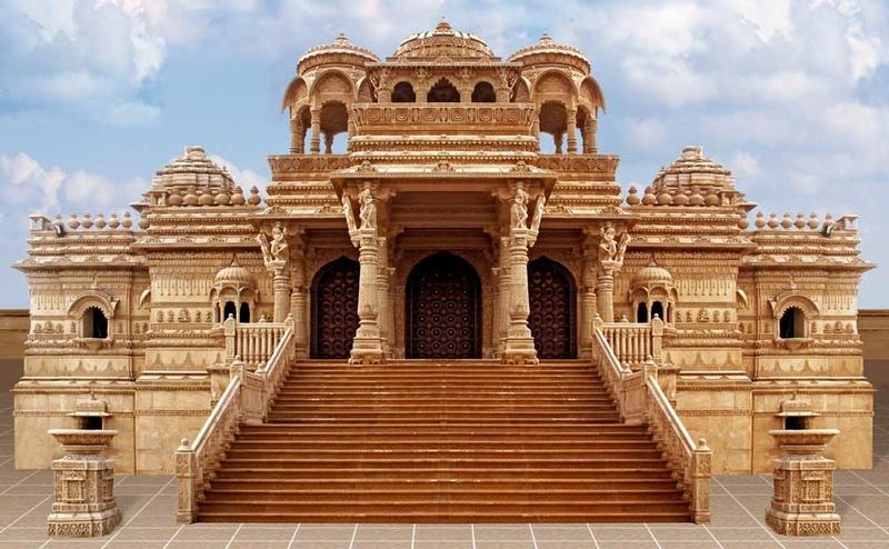temples hindous dans le monde Wemble10