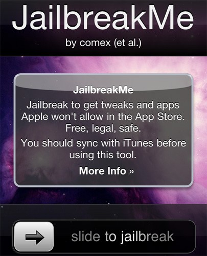Jailbreak 4.0.1, Pas Jailbreak pour 4.0.2. 10x08010