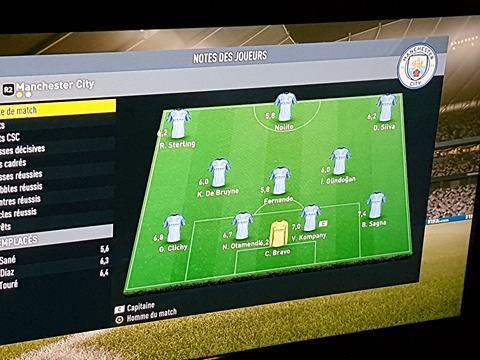 Manchester City 0 - 2 Juventus [Simulateur:André] Notes_11