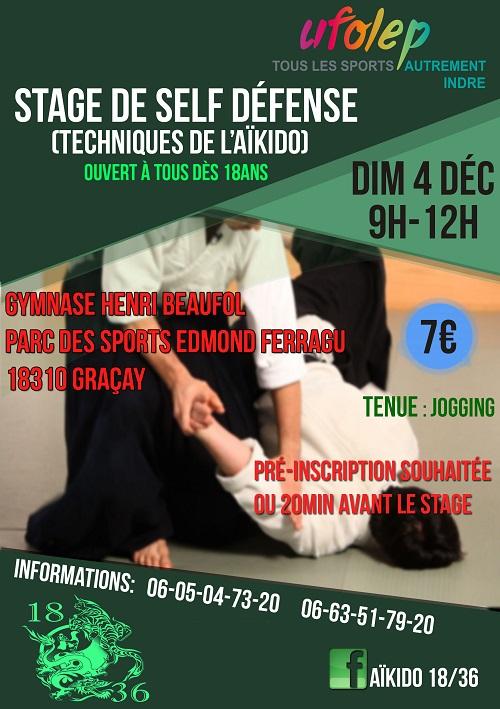 Dimanche 4 décembre 2016 - VATAN - Stage de self défense 00138