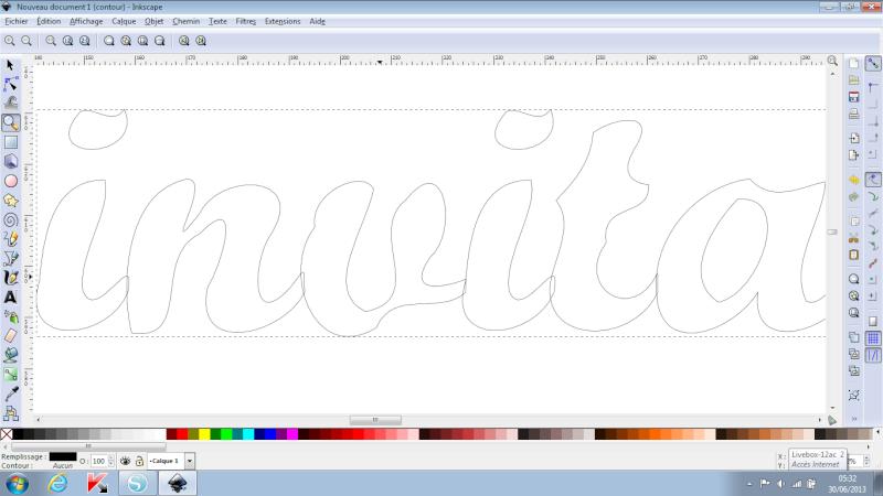 [Inkscape] Lettres liées - Nouvelle méthode plus facile - Page 17 Chevau10
