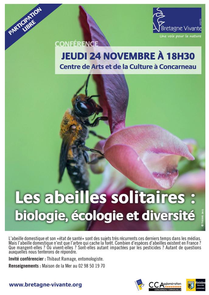"""Conférence """"Les abeilles solitaires: biologie, écologie et diversité"""" Sans_t13"""