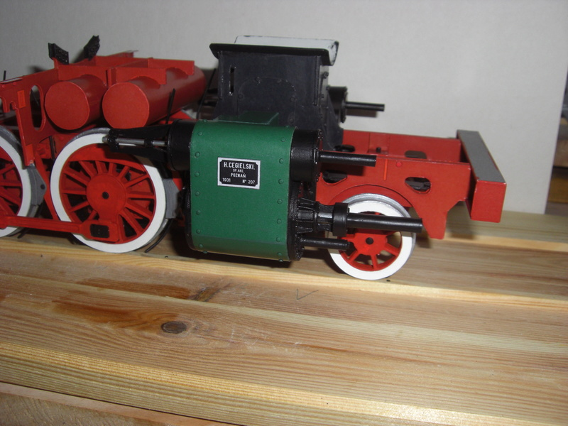 Fertig - Lokomotive HCP 1-6-2 Bulgar Modelik 1:25 von Lothar - Seite 3 09210
