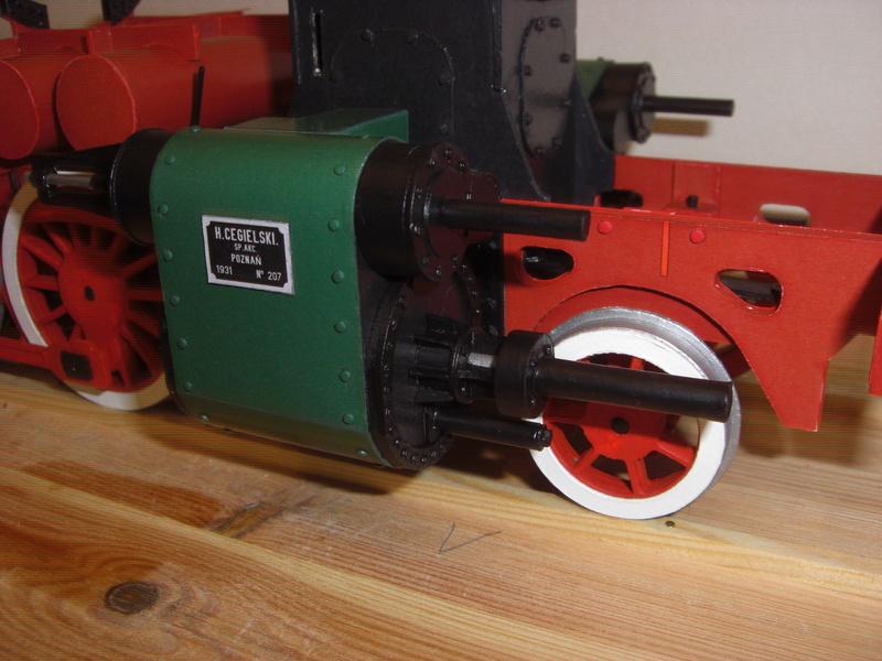 Fertig - Lokomotive HCP 1-6-2 Bulgar Modelik 1:25 von Lothar - Seite 3 09510
